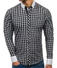 551f6adb08 Fekete Férfi ingek | 1.330 termék egy helyen - Glami.hu