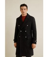 Pánsky kabát na zimu čierny J.STYLE 3133 - Glami.sk d56d56eba0d