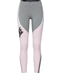 00c219da53cd Nike Sportswear Legíny šedá   růžová   bílá