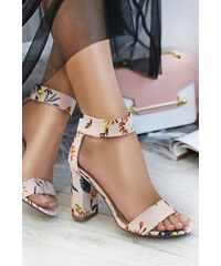 3af439d5c164 Ideal Béžové květované sandály Mariett