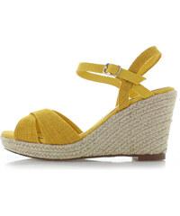 8ed73842c55a Refresh Žlté platformové sandále 69710