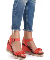 859183408e55 XTI Koralové platformové sandále 48921