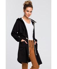 Černé dámské bundy a kabáty  c67c542d2db