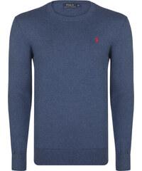 Modrý prémiový svetr od Ralph Lauren c131752dc98