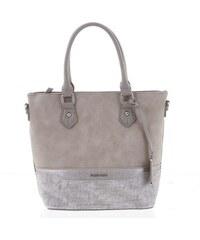 Moderná sivá dámska kabelka do ruky - David Jones Ryann šedá e91a3ab03a1