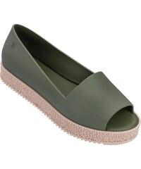 b4f7e975bead Melissa khaki topánky na platforme Puzzle Green Verde