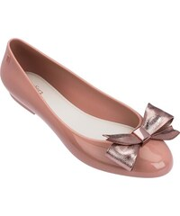 d94f21a8e910 Melissa staroružové balerínky Doll III Pink Beige