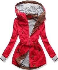 MODOVO Hosszú női kabát kapucnival 22172 piros. Méret csak L. Termék  részlete · MODOVO Női átmeneti kabát kapucnival QL-335 piros 9ade9f4a37