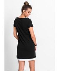 aa80d5ad929e bonprix Tričkové šaty s potiskem