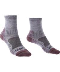 Ponožky Bridgedale Hike Lightweight Ankle Merino Performance Women s  heather damson 814 3a5c76e1a0