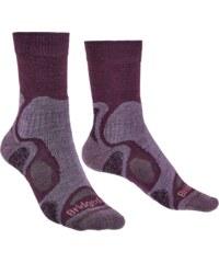 Ponožky Bridgedale Hike Lightweight Boot T2 Merino Performance Women s  plum 350 d134bef983