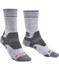 Ponožky Bridgedale Hike Midweight Boot Merino Performance Women s  silver grey 809 3004344560