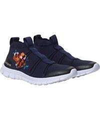 7b6edcd66dc Desigual modré športové tenisky Ankle Knitted Sneaker