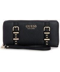 GUESS peňaženka Eileen Large Zip-Around Wallet čierna e4f009a5b84
