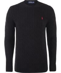 Černý prémiový svetr s ornamentem od Ralph Lauren cff125f81c2