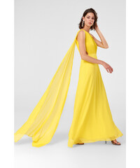 Trendyol Yellow One-Shoulder Dress Yellow f8e37d50c11
