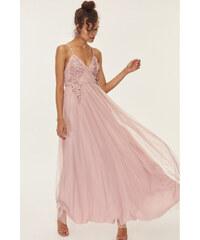 2211f16d3c06 Šaty dámské Trendyol Oil Flower Powder Pink