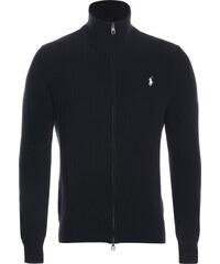 Černý prémiový svetr na zip od Ralph Lauren ee04cf9b04