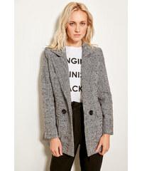 Trendyol Grey Plaid Coat Grey 72e296633ea