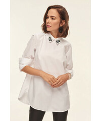 cfb6c032c5a4 Trendyol White Accessories Detailed Tunic White