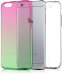 kwmobile Průhledný oboustranný kryt pro Apple iPhone 6 - růžová 6d4e75f7dfa