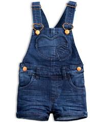 Dievčenské šortky s trakmi KNOT SO BAD COOLEST modré f7c92d9f88f
