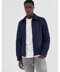 218ab3eedc Tommy Hilfiger new ivy icon logo harrington jacket in navy - Sky captain