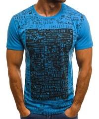 c90c09b7f96d OZONEE O 1173 Pánske Tričko modré