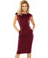 a8dc47972f8a Numoco dámské šaty XL vínová