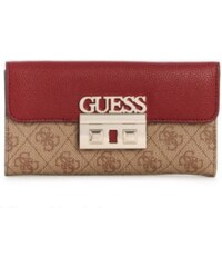 GUESS peňaženka Logo Luxe Wallet hnedá 696b9a99973