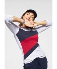 706e5da2af1 KangaROOS Tričko s dlouhým rukávem bílá-modrá-červená