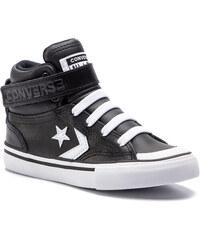 Sneakersy CONVERSE - Pro Blaze Strap Hi 663608C Black White White 476b0a24f22