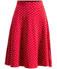 490e252dd513 Blutsgeschwister červená sukně Glocke