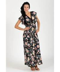 fashion´s first Maxi šaty Kvetinová Vitráž 235ac3d3817