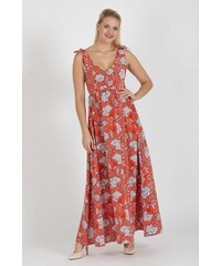 fashion´s first Maxi šaty Pomaranč ab7437592c4