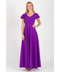 GUNTINA Maxi šaty Lady Purple 2a5f2ffd8e