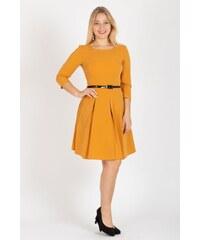 Žlté Šaty z obchodu Poshme.sk - Glami.sk 37f61b6e132
