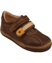 Celoroční kožené boty obuv Pegres hnědé 3284 913d0dc9cb