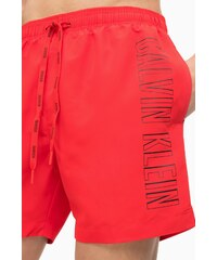 Pánské Plavky Calvin Klein Medium Drawstring Logo Červené 59917c9290