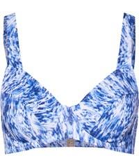 ac42bbc306f TRIUMPH Horní díl plavek  Floral Cascades W pt  tmavě modrá   bílá