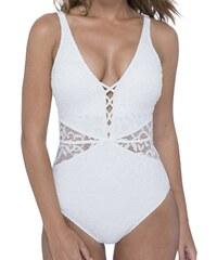Gottex - Shalimar plavky jednodílné nevyztužené bílá 8f148227d1