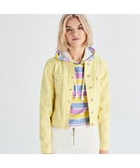 Sárga Női dzsekik és kabátok  caf9a8c987