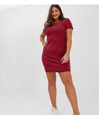 f9acc0e60e4a Vero Moda Curve striped fitted t-shirt dress - Multi