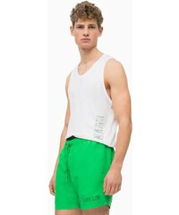 CK CALVIN KLEIN Zelené šortkové plavky Intense Power 2.0 S ecba95fc8c