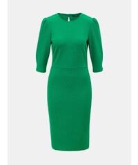 Zelené puzdrové šaty s 3 4 rukávom Dorothy Perkins ba47fe98c08