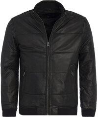 72b764bd7a5f Pepe Jeans pánska čierna kožená bunda Malta