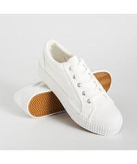 Sinsay - Bílé tenisky - Bílá. 499 Kč b047805456f