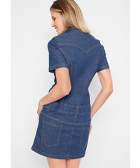 0e6aae9ceee bonprix Strečové džínové šaty