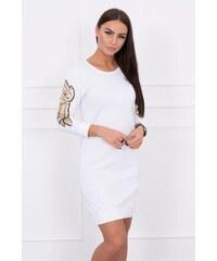 b493a5770011 Carla Puro Lino Dámske ľanové šaty CRL16S P8046 WHITE - Glami.sk