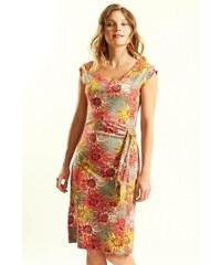 25a69d4ef56 Nomads DAHLIA dámské letní šaty ze 100% biobavlny - růžová guava